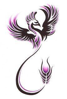 Fenix clipart purple For Job tattoos Bird Does