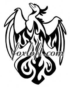 Phoenix clipart rising phoenix Tattoo DeviantArt Tattoo Phoenix Foxfeather248
