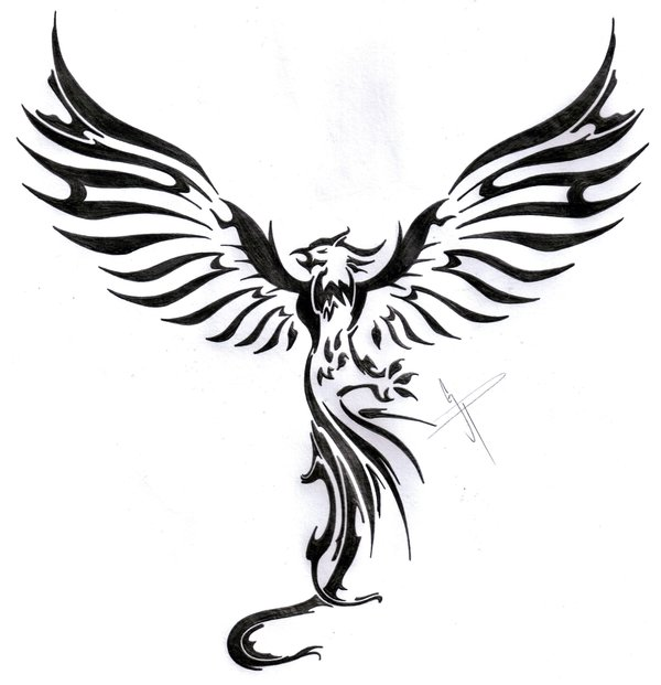 Phoenix clipart rising phoenix Boy for by rising on