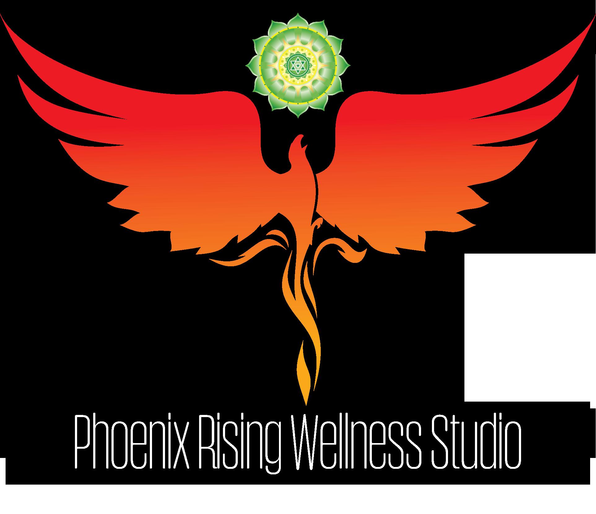 Phoenix clipart rising phoenix Logo Rising Rising Phoenix Wellness