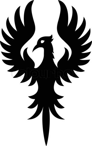 Phoenix clipart silhouette 2 123944 Phoenix com/preview/5198155 Bird