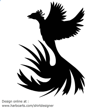 Phoenix clipart silhouette Pinterest Phoenix Silhouettes Phoenix Phoenix
