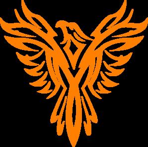 Phoenix clipart silhouette Clip Art White Clip Phoenix