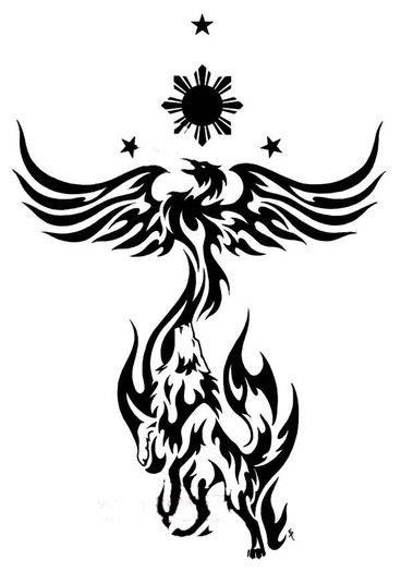 Fenix clipart celtic knot : More Like bakero Phoenix
