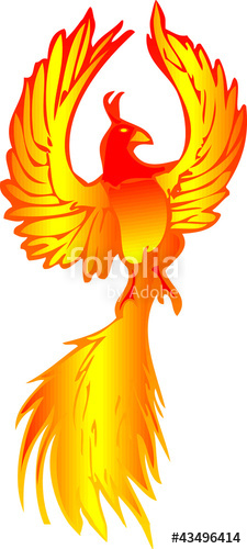 Phoenix clipart yellow Files on image  and