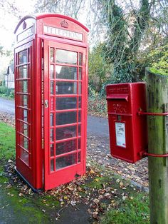 Phone Booth clipart red post box #6