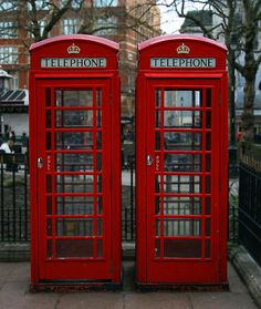 Phone Booth clipart red post box #11