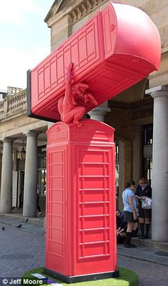 Phone Booth clipart red post box #4