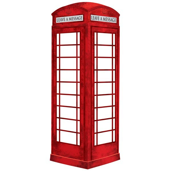 Phone Box clipart London Decal zoom Erase Board