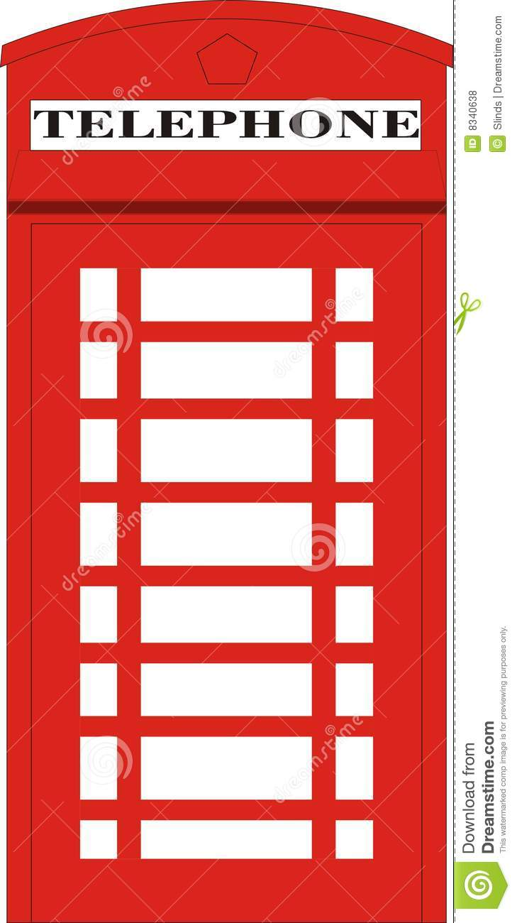 Phone Box clipart Box Phone box collection Royalty