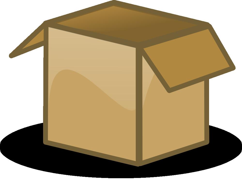 Box clipart cartoon  Boxes on Art Art