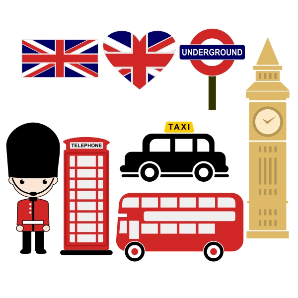 Phone Box clipart london underground Design Pack Box Design Cuttable