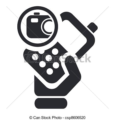 Phone clipart camera phone Vector single camera camera single