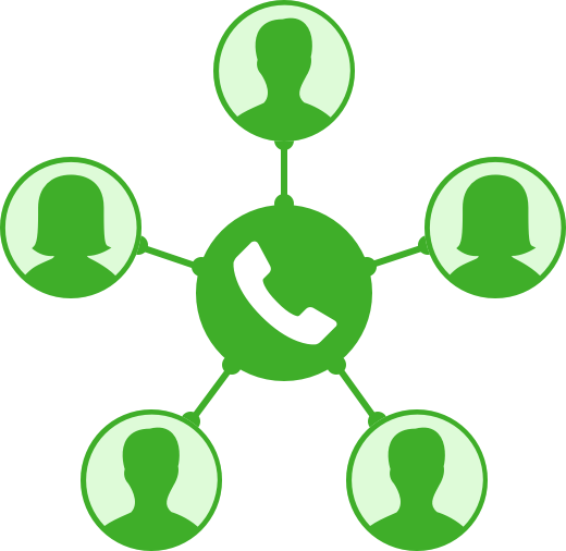 Phone clipart conference call #5