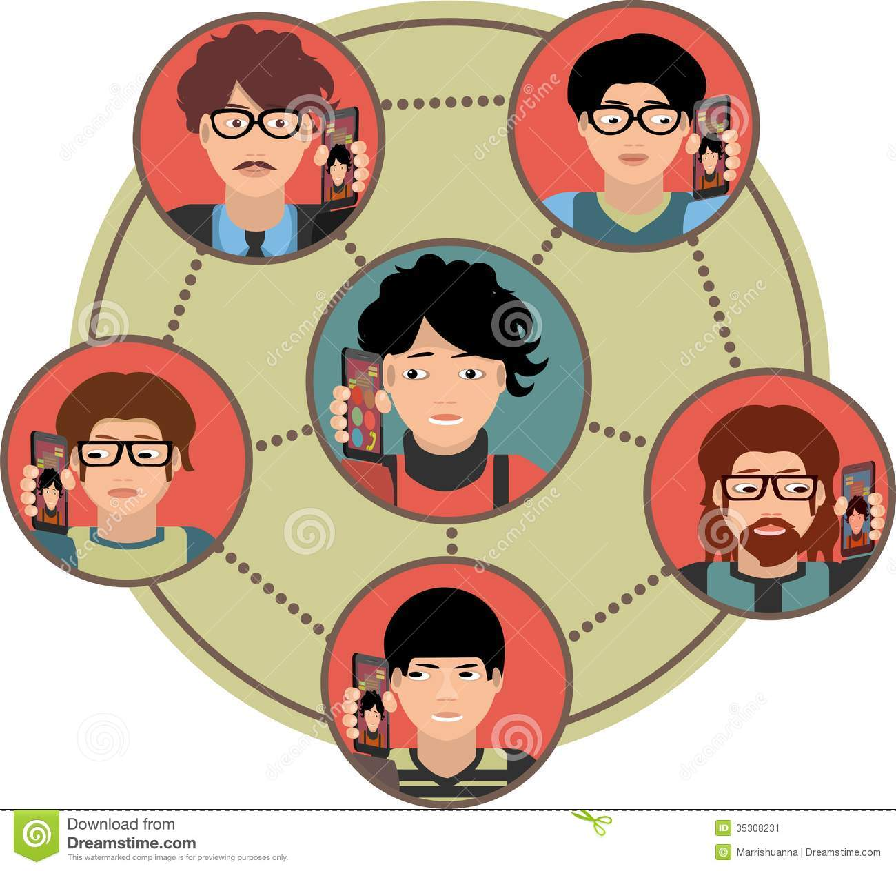 Phone clipart conference call #4