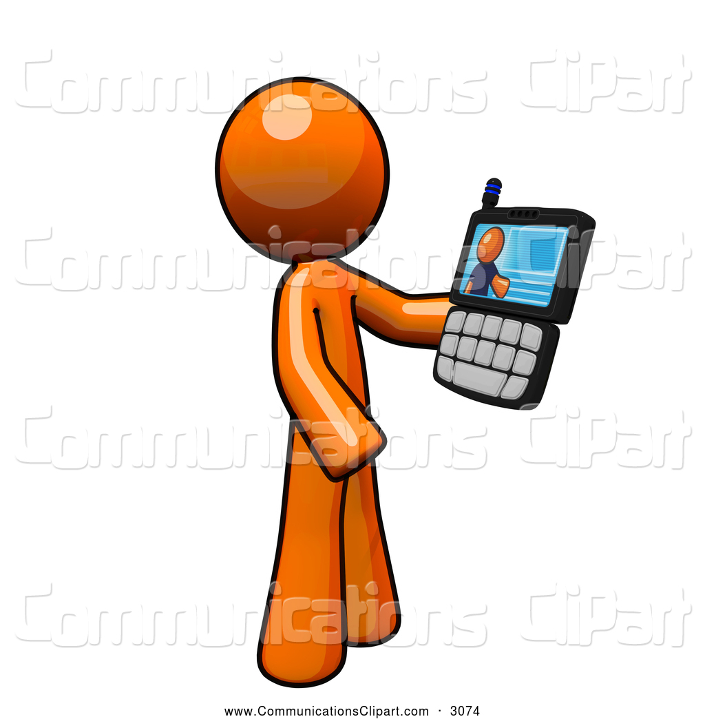 Phone clipart conference call #7