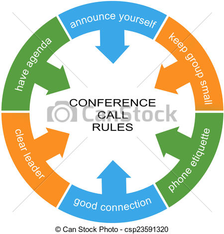 Phone clipart conference call #9