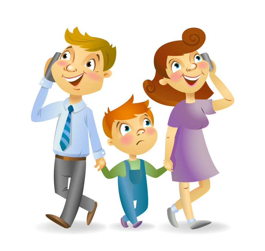 Phone clipart family Adults  Huntington's discussed your