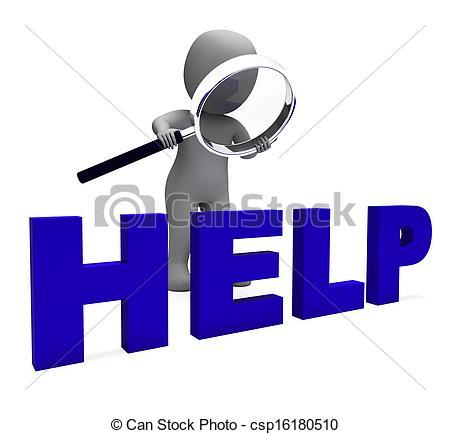 Phone clipart helpline Help Assist Character Assist Helpdesk