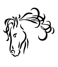 Larger clipart headed Horse Lightbox that Share Clip