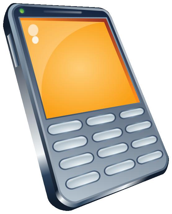 Phone clipart mbile #9