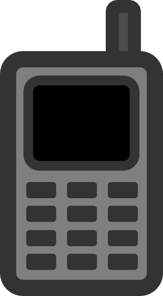 Phone clipart mobile logo Clker  as: Download Phone