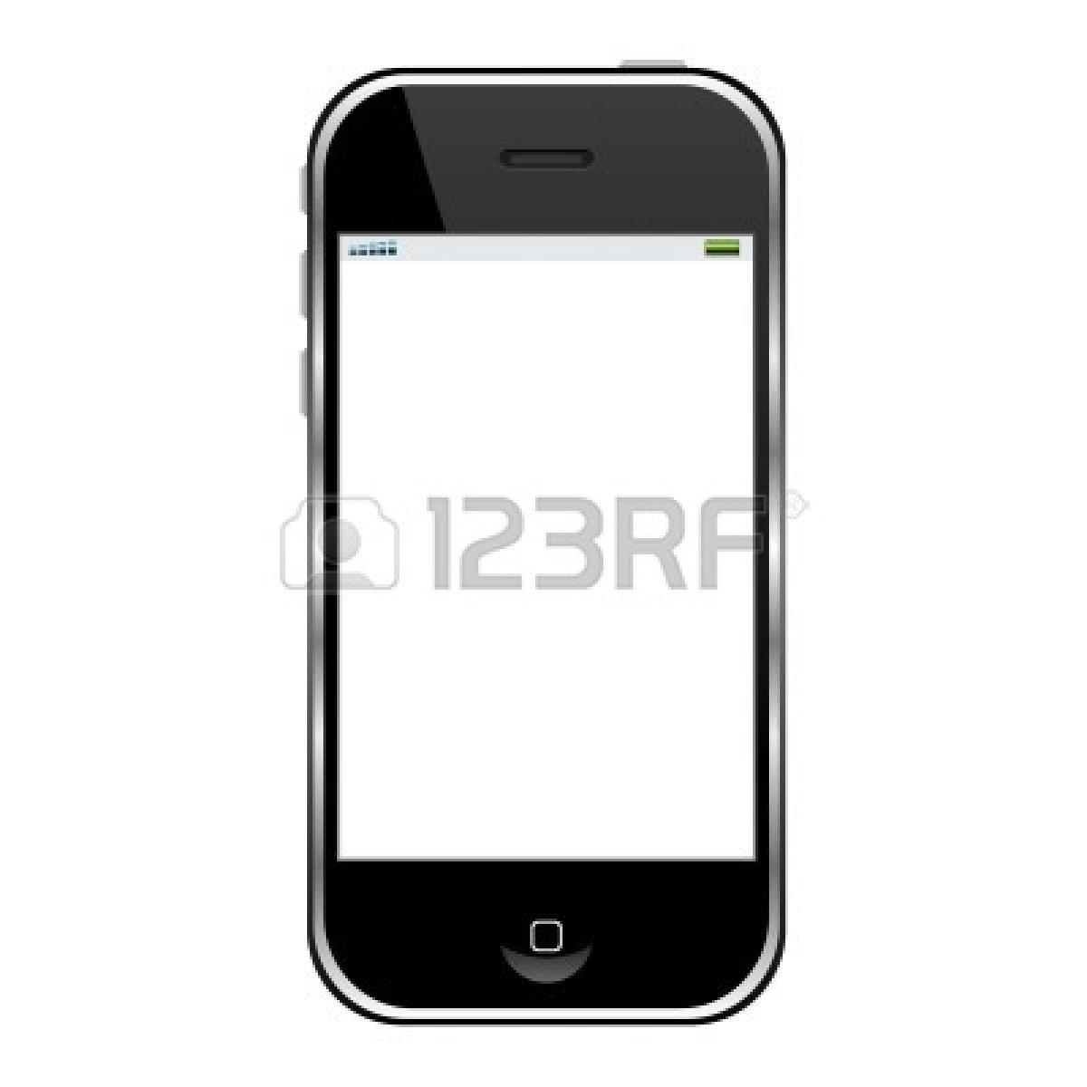 Phone clipart modern  Black Panda Free Cell