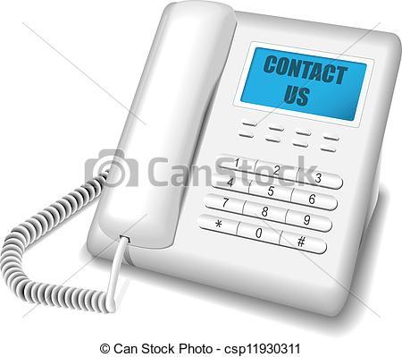 Phone clipart modern Illustration  Vector Vector of