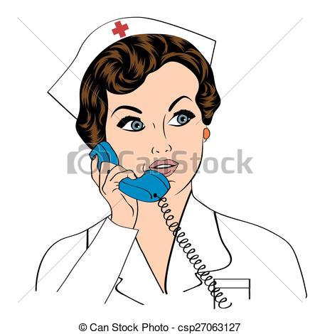 Phone clipart nurse #8