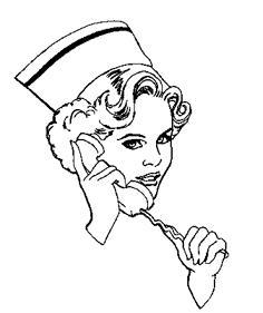Phone clipart nurse #11