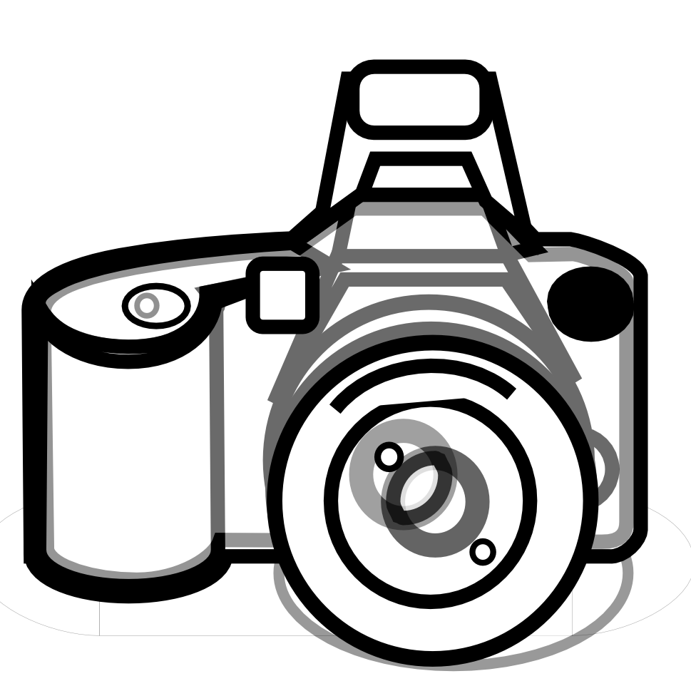 Dslr clipart black and white Photography white and clip free