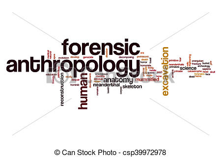 Photography clipart anthropologist Forensic anthropology of anthropology Forensic