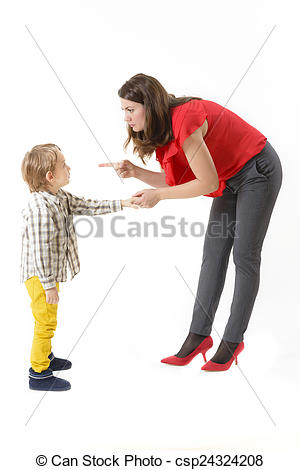 Photography clipart childhood Days Mother of disciplining her