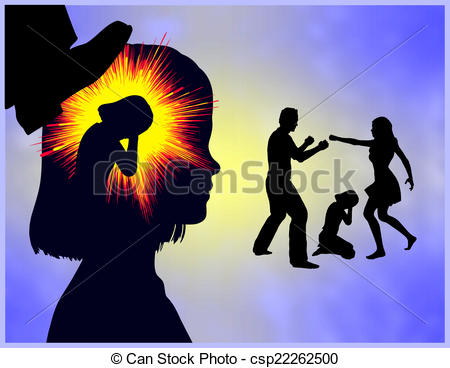 Photography clipart childhood Trauma Girl of with traumatic
