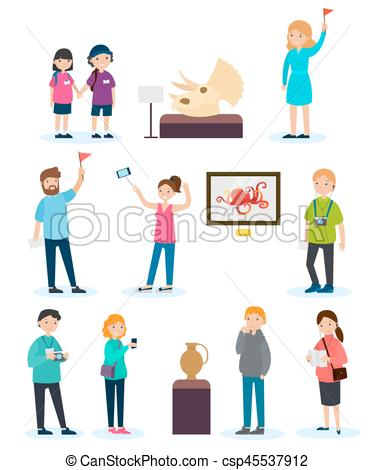 Photography clipart excursion Of excursion Set Art Vector
