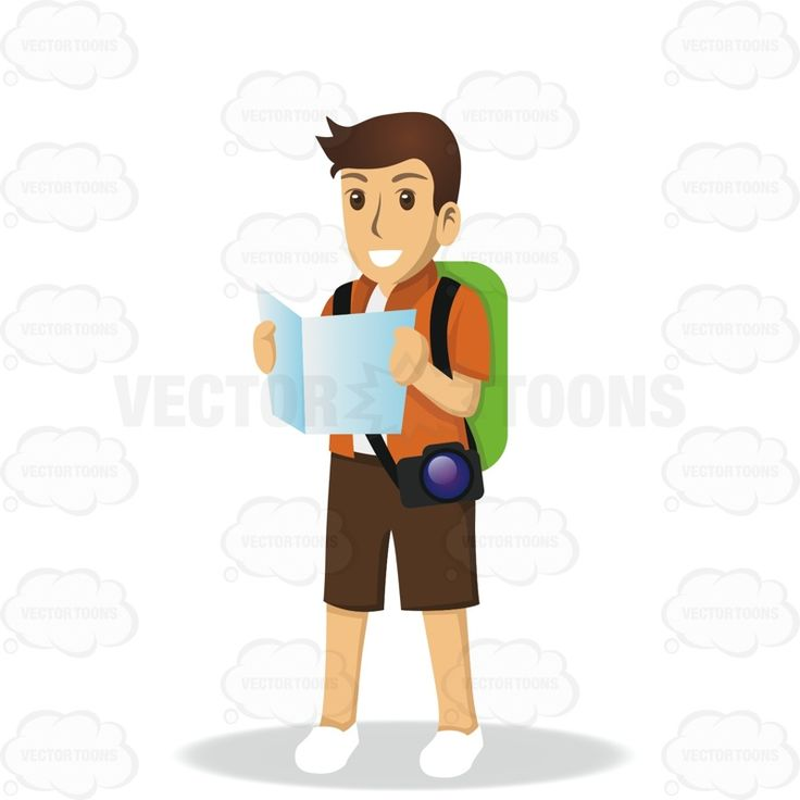 Photography clipart excursion Backpack Holding A A And