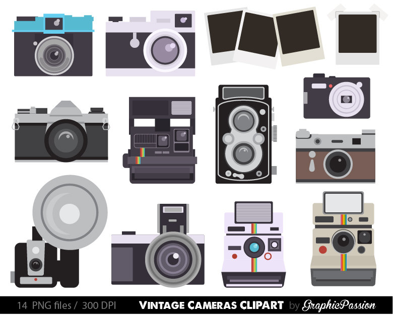 Photography clipart fun Fun Vintage is Digital