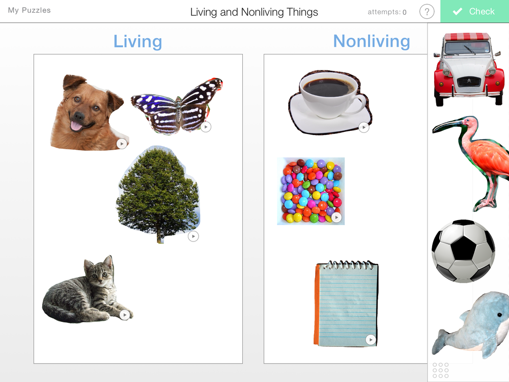 Photography clipart non living Nonliving Learning Living  Things