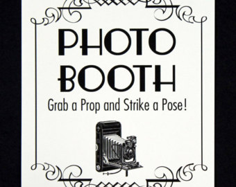 Photography clipart different talent Prop Prop Booth Sign Booth