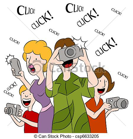 Photography clipart picture taking Clipart Taking photos photos clipart