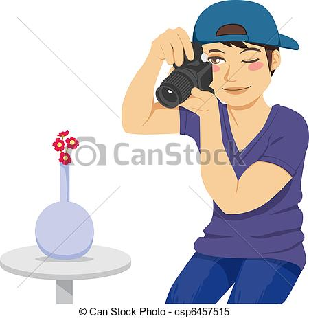 Photography clipart picture taking Photographer Clipart Stock Vector a