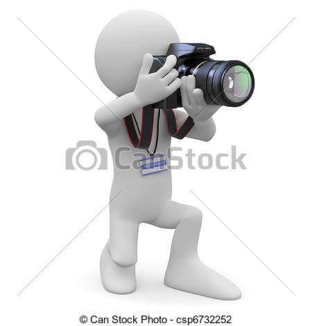Photography clipart slr camera SLR his Photographer  SLR