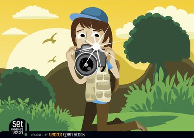 Photography clipart snapshot Landscape Photographer in Cliparts snapshot