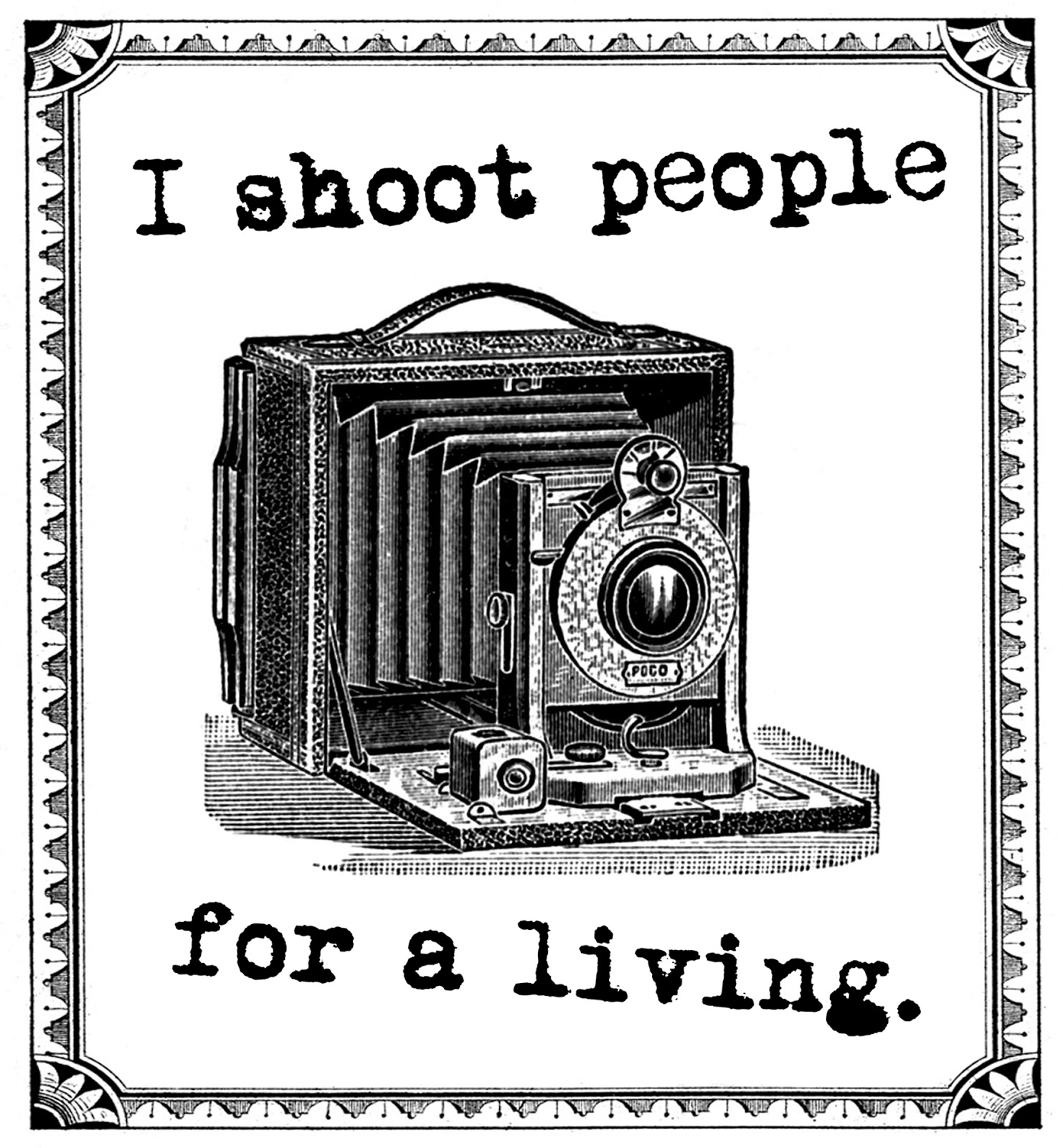 Photography clipart vintage camera Digital Graphic Clip art collage