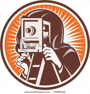 Photography clipart vintage camera Camera Photographer Clipart Picture: Vintage