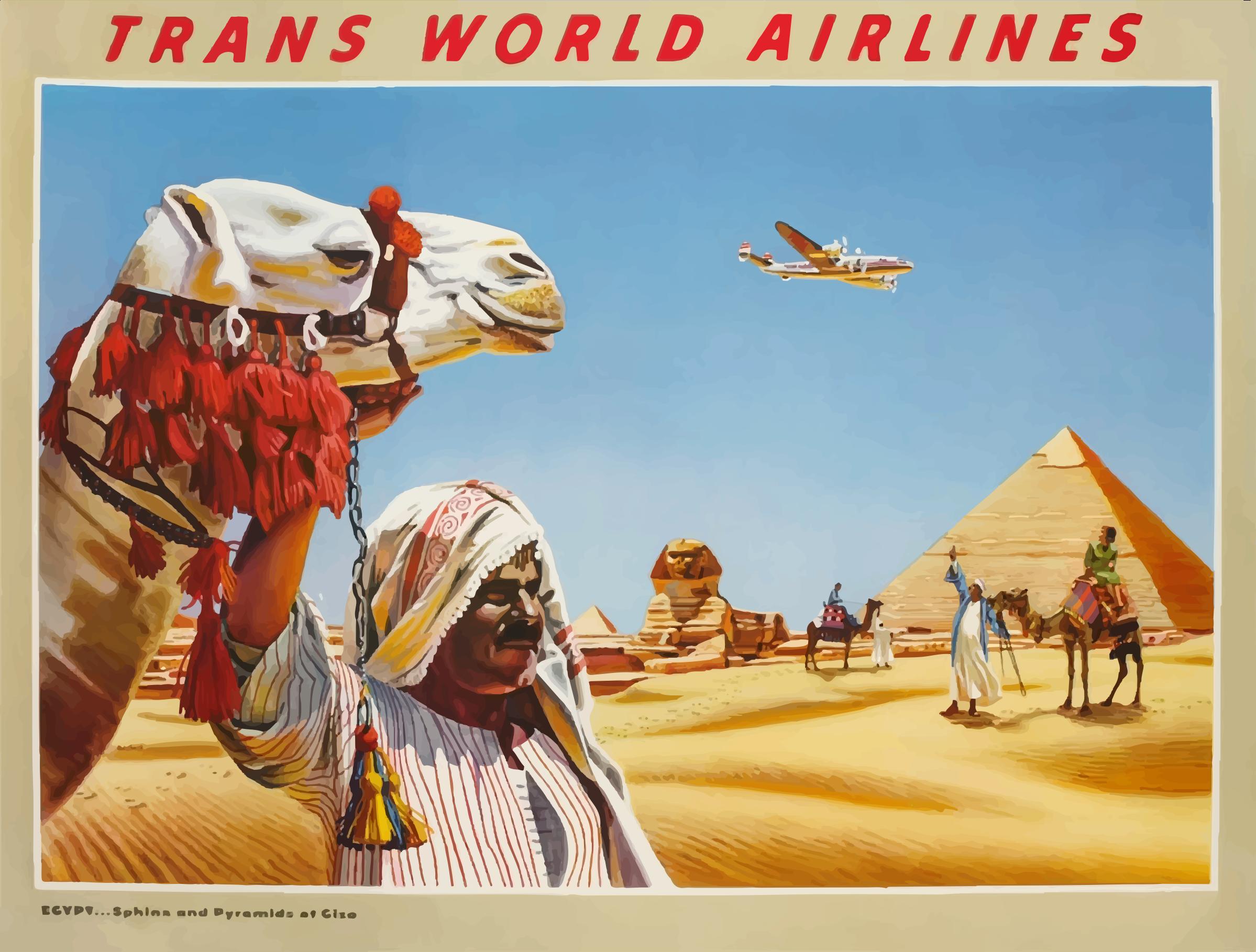 Photography clipart vintage travel Clipart Egypt Vintage Poster 3