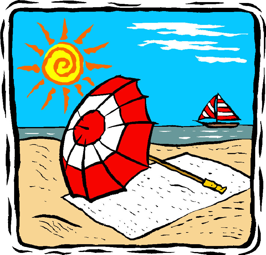 Holydays clipart summer vacation Com 4 fun for art