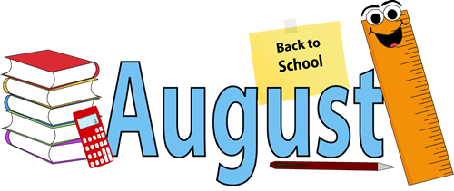 Calendar clipart aug Share Download Clipart Art #14565