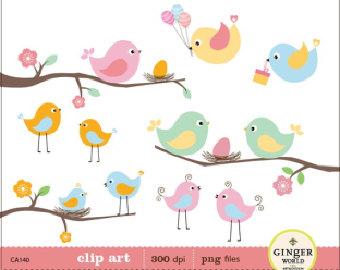 Bluebird clipart baby shower Bird  Clipart Clip Baby