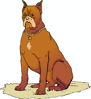 Larger clipart big dog And Download clipart graphics Dog